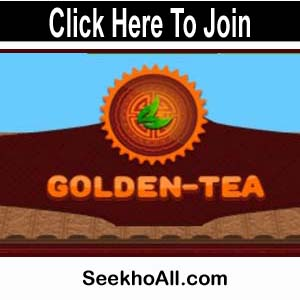 Golden Tea Website | Earn money playing the game |