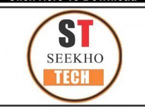 Seekho Tech Official App Apk   Best Different Youtube Video Maker App  