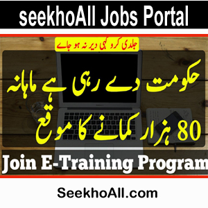 Photo of E-Training Program 2019 | You Can Earn Rs 80,000 Monthly |